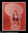Autographs, Lisa Loring Signed Addams Family Photo