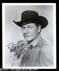 Autographs, Joel McCrea Signed 8 x 10 Photo