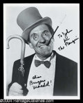 Autographs, Burgess Meredith Signed Photo as The Penguin