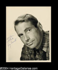 Autographs, Gary Merrill Signed Photo