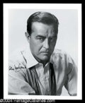 Autographs, Ray Milland Signed 8 x 10 Photo