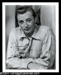 Autographs, Robert Mitchum Signed Photo