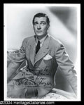 Autographs, Walter Pidgeon Signed 8 x 10 Photo