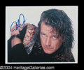 Autographs, Robert Plant Signed 8 x 10 Photo