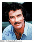 Autographs, Tom Selleck Signed 8 x 10 Photo