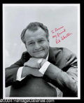 Autographs, Red Skelton Signed 8 x 10 Photo