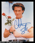 Autographs, Christian Slater Signed 8 x 10 Photo