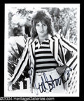 Autographs, Rod Stewart Signed 8 x 10 Photo