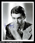 Autographs, James Stewart Signed 8 x 10 Photo