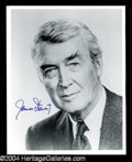 Autographs, Jimmy Stewart Signed Photo