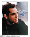 Autographs, Ben Stiller Signed 8 x 10 Photo
