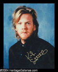 Autographs, Kiefer Sutherland In-Person Signed Photo