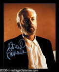 Autographs, Donald Sutherland In-Person Signed Photo