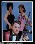Autographs, Robert Vaughn In-Person Signed Photo