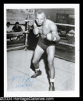 Autographs, Jersey Joe Walcott Signed Photo