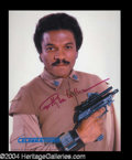 Autographs, Billy Dee Williams Signed Star Wars Photo