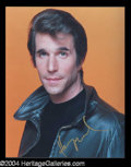 Autographs, Henry Winkler Signed Happy Days Photo