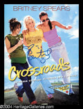 Autographs, Crossroads Britney Spears Signed Presskit