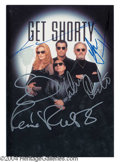 Autographs, Get Shorty Rare Cast Signed Presskit