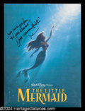 Autographs, Disney's The Little Mermaid Signed Presskit