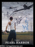 Autographs, Pearl Harbor Cast Signed Presskit