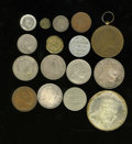 Ethiopia: , Ethiopia: Type and Date Collection, this group of fifteen coins, tokens and medals provides a great starter collection for this fascin... (Total: 15 coins Item)