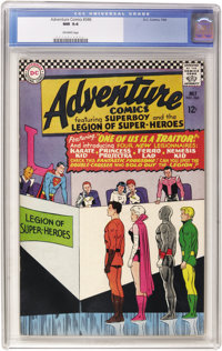 Adventure Comics #346 (DC, 1966) CGC NM 9.4 Off-white pages