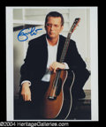 Autographs, Eric Clapton Signed 8 x 10 Photo