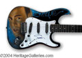 Autographs, Enrique Iglesias Signed Custom Guitar