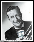 Autographs, Harry James Signed 8 x 10 Photo