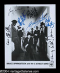 Autographs, Bruce Springsteen & The E Street Band Signed Photo
