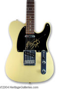 Autographs, Bruce Springsteen Signed Fender Telecaster Guitar