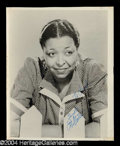 Autographs, Ethel Waters Vintage Signed Photograph