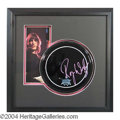 Autographs, Roger Waters (Pink Floyd) Signed Framed Drumhead Display