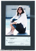 Autographs, Kate Jackson Signed Bank Check