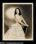 Autographs, Patricia Munsel Vintage Signed Photo