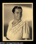 "Autographs, Charles ""Buddy"" Rogers Vintage Signed Photograph"