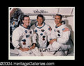 Autographs, Apollo 7 Schirra & Cunningham Signed Photo (A)