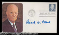 Autographs, Mark W. Clark Signed First Day Cover