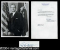 Autographs, John B. Connally (JFK) Signed Photograph