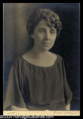 Autographs, Grace Coolidge Beautiful Signed Photograph