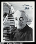 Autographs, Jacques Cousteau Signed Photograph