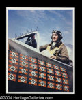 Autographs, Gabby Gabreski (WWII) Ace Fighter Signed Photo