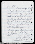 Autographs, Ray Gallagher (Atomic Bomb--Nagasaki) Signed Letter