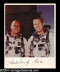 Autographs, Gemini V Conrad and Cooper Signed Photo (A)