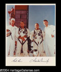 Autographs, Gemini V Conrad & Cooper Signed Photo (B)