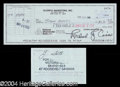 Autographs, John Gotti Scarce Endorsed Signed Bank Check