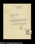 Autographs, Robert F. Kennedy Typed Letter Signed As Attorney General