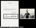 Autographs, Norman Mailer Signed Letter Great Content