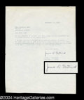 Autographs, James A. McDivitt Typed Letter Signed